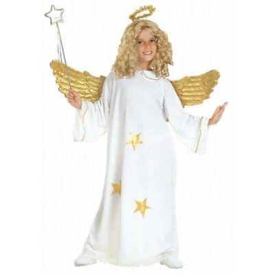Kinder Stern Engel Kind 140cm Kostüm Für Weihnachten Panto Krippe Phantasie - Krippe Sterne Kostüm