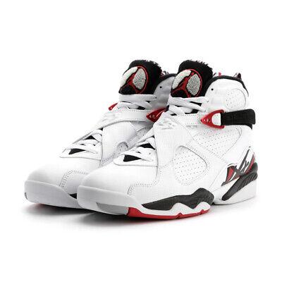 Air Jordan 8 Retro Alternate White Gym Red Black Wolf Grey size 15 130690 (Jordan 8 Black Gym Red Black Wolf Grey)
