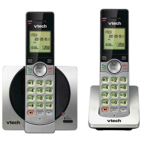 NEW VTECH CS6919-2 DECT 6.0 EXPANDABLE CORDLESS PHONE WITH 2 HANDSETS, CALLER ID
