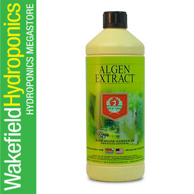 House and Garden Algen Extracts 1 Litre Faster Growth Plant Nutrient Hydroponics