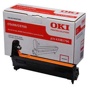Nuevo-Original-OKI-43381706-Magenta-Original-Laser-Imagen-Unidad-tambor