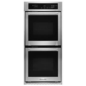 SELF CLEAN KITCHENAID DOUBLE WALL OVEN | APPLIANCES ON SALE  (KAD509)