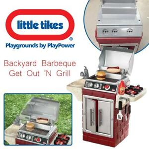 NEW Little Tikes Backyard Barbeque Get Out N Grill Condtion: New
