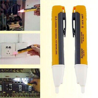 Voltage Tester Pen Non-contact Electric Volt Alert Detect Cat Ac 90-1000v Sa