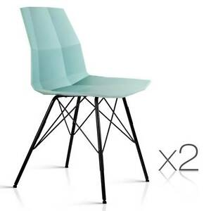 SALE:  Set of 2 Eames Replica Contour Dining Chair Melbourne CBD Melbourne City Preview