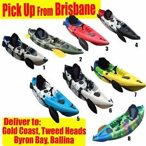 Fishing Kayak Sit-on, 5 Rod Holders, 150kg capacity 3.0m, boating Seventeen Mile Rocks Brisbane South West Preview