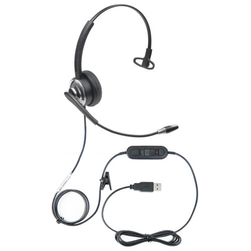 WordCommander USB Voice Recognition Headset with Noise Cancelling Microphone