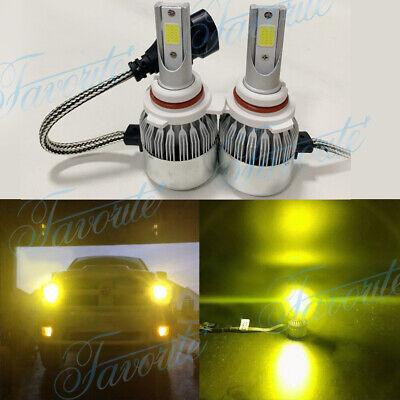 9012 HIR2 LED Headlights Bulbs 55W 8000LM Kit High Low Beam Upgrade 3000K (Best E Bike Conversion Kit 2019)