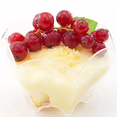 Dessert Cups Disposable Mini Parfaits SupaCute Appetizer Bowls 3.04 oz Set of 24 - Mini Parfait Cups