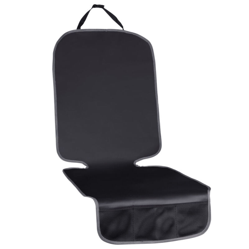 Premium Leather Car Seat Protector Cover Under Baby Carseat Pad Mat Waterproof