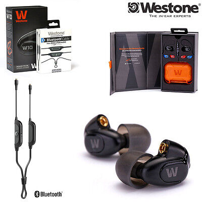 Westone W10 Single-Driver Monitor Earphones with MMCX Bluetooth Wireless Cable
