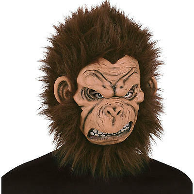 Gorilla Mask Angry Monkey Mask by Totally Ghoul Adult Costume - Angry Mask
