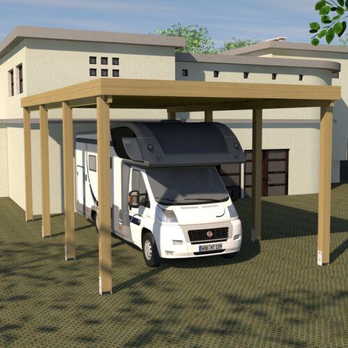 Wohnmobil Schneelast bis 200 Kg pro qm möglich Caravan Carport 4x9 Wohnwagen