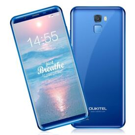 OUKITEL K5000, 5.7'' 18:9 infinity HD display full screen (Blue) *NEW* Smartphone