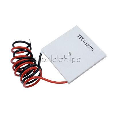 5pcs Tec1-12710 Heatsink Thermoelectric Cooler Cooling Peltier Plate Module Top