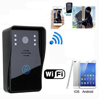 Wireless WiFi Video Doorbell IR Camera Smart Door Phone Visual Intercom Monitor