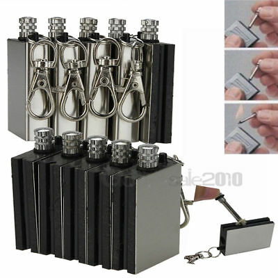 5Pcs Survival Emergency Camping Fire Starter Flint Metal Match Lighter Hiking Us