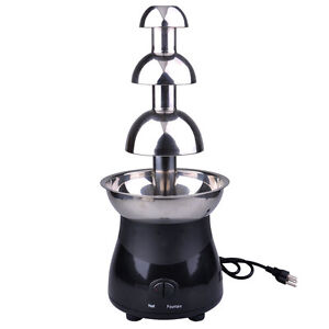 21-3-Tiers-6lb-Chocolate-Fountain-Fondue-Stainless-Steel-Wedding-Party-Catering