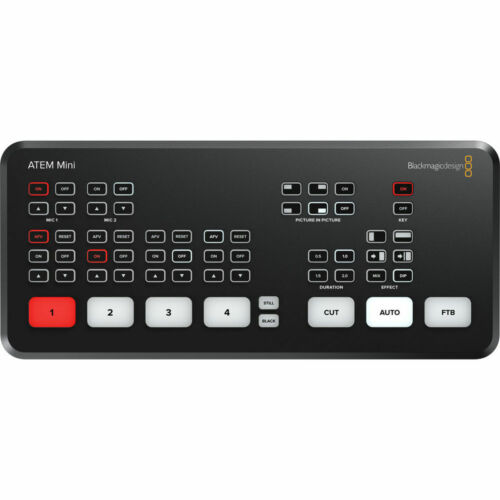 Blackmagic Design ATEM Mini HDMI Live Stream Switcher (OPEN BOX)