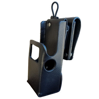 Case Guys Mr8607-3aw Hard Leather Holster For Motorola Apx 6000 8000 Radios