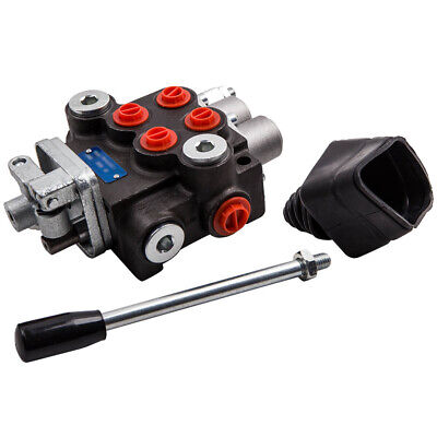 2 Spool 11 Gpm Hydraulic Directional Control Valve Tractor Loader W Joystick