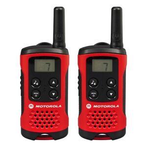 4km Motorola TLKR T40 2 Way Walkie Talkie Compact Set PMR 446 Radio Kit - 2 Pack