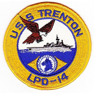 LPD-14 USS TRENTON Austin-Class Amphibious Transport Dock Navy Military Patch