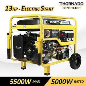 Thornado 5500W Max / 5000W Rated Petrol Power Generator 16HP Chipping Norton Liverpool Area Preview