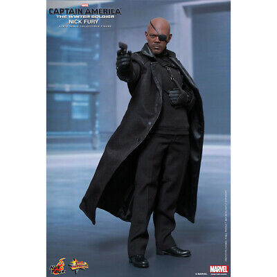 HOT TOYS MMS315 CAPTAIN AMERICA THE WINTER SOLDIER NICK FURY 1/6 FIGURE