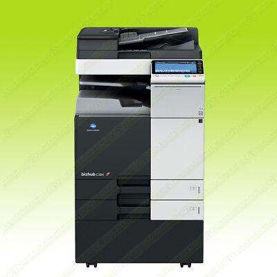 Konica Minolta Bizhub C364 Laser Color Bw Printer Scanner Copier 36ppm A3 Mfp