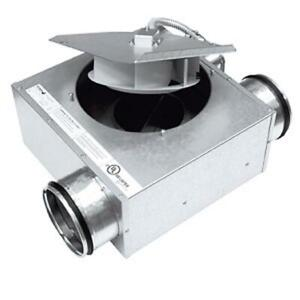 NEW INLINE DUCT FAN -- BOOST CIRCULATION BY 588 CFM THROUGH DUCTS FOR IMPROVED HEATING AND COOLING