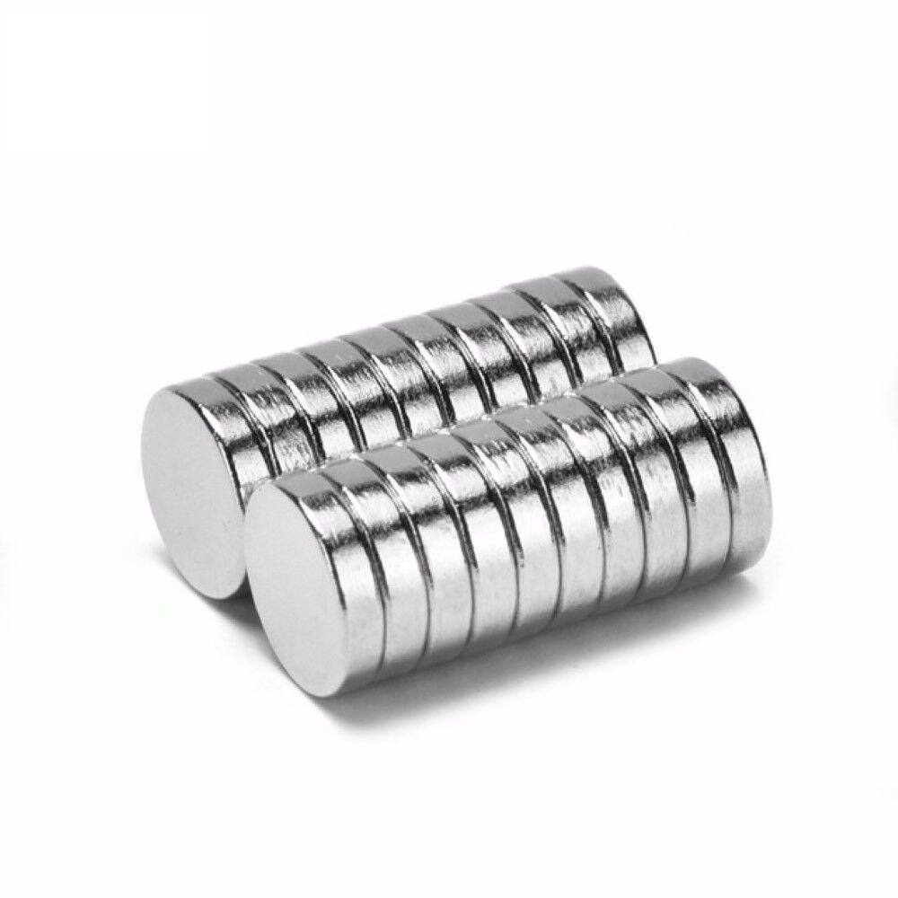 Neodym Magnets 8 X 2 MM Super High Holding Strength Disc N35