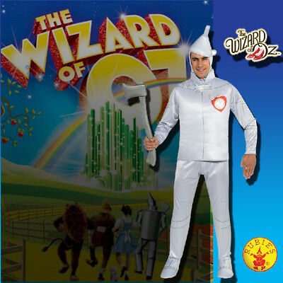 TIN MAN COSTUME THE WIZARD OF OZ DELUXE MENS LICENSED FANCYDRESS ADULT HALLOWEEN