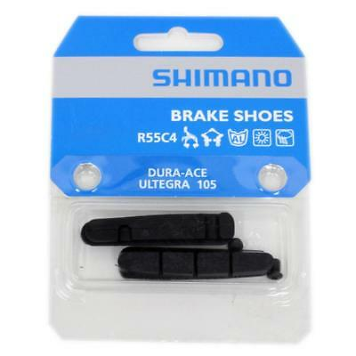 Shimano Bicicleta de Carretera Recambio Pastilla Freno Insertables R55c4 1 Par