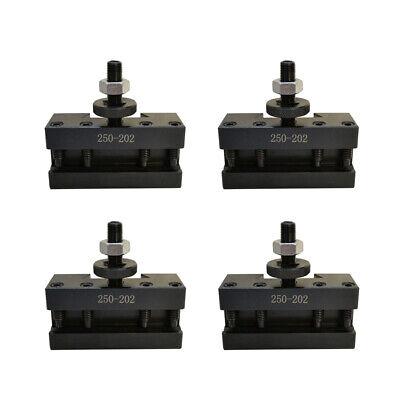 T1013 Bxa 2 Set Of 4 10-15 Quick Change Cnc Tool Post Boring Holder 250-202
