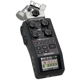 Zoom H6 - Brand new, never used (Tascam, rode, Sennheiser)