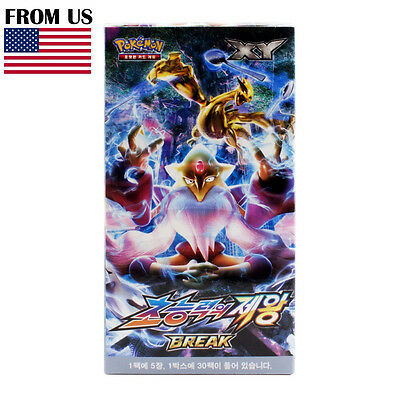 Pokemon Card XY BREAK Booster Box Awakening of the Psychic King Korean Version