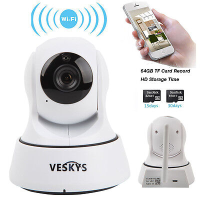 Wireless 720P HD Pan/Spar with National Network Pet Trace Camera WiFi IP Webcam IR CUT