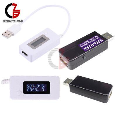 Usb Lcd Display Tester Voltmeter Ammeter Voltage Current Power Capacity Detector