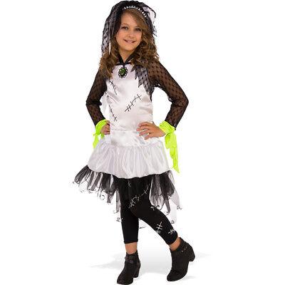 Girls Monster Bride Halloween Costume Girls Monster Bride Costume