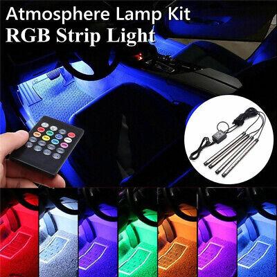 Innenbeleuchtung LED Auto Fußraumbeleuchtung Mit Fernbedienung Musiksteuerung ()