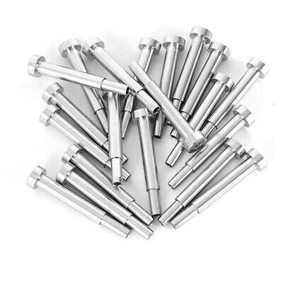 18 Cable Railing Set Stainless Steel Invisible Receiver Swage Stud End Fitting