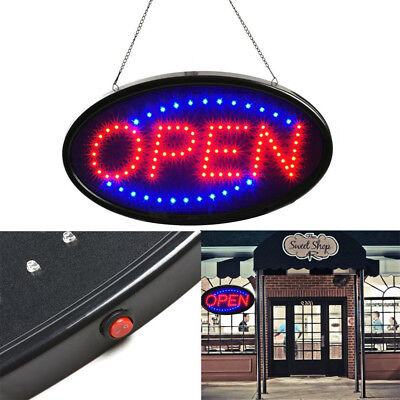 Ultra Bright LED Neon Light Animated Motion with ON/OFF Store OPEN Business Sign (Led Light Sign Led)