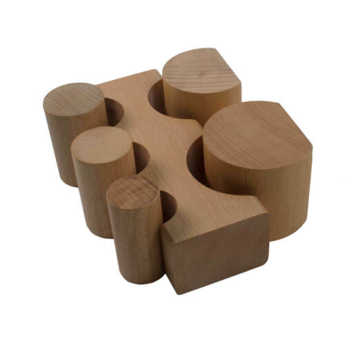 Large Hardwood Bending Block 5 pc Set - 25-148