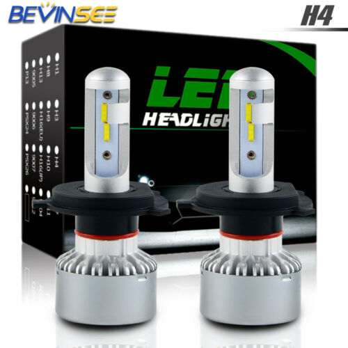 H4 9003 For Ski-Doo Freeride 800R 2012-2016 LED Headlight Hi/Low Beam White Bulb