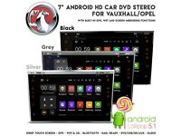 "7"" HD Android GPS Bluetooth WiFi USB SD Car Stereo + Screen Mirror For Vauxhall Astra Corsa Zafira"