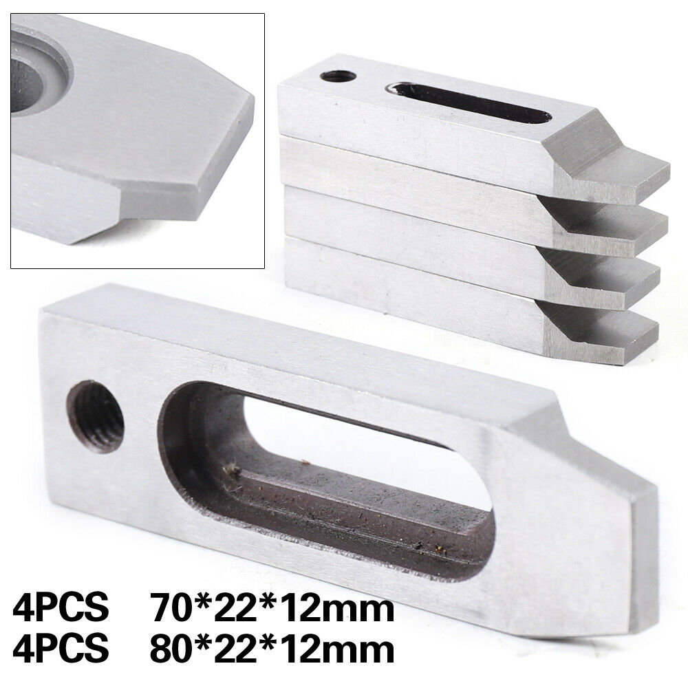 4pcs Wire EDM Stainless Jig Holder Clamping 70 x 22 x 12 mm M8 x 1.25 Screw