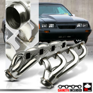 Stainless Steel Shorty Exhaust Header Manifold for 79-93 Ford Mustang 5.0 302 V8
