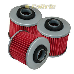YAMAHA RAPTOR 700R YFM700R 2006 2007 2008 2009 2010 2011-2018 OIL FILTER 3-PACK