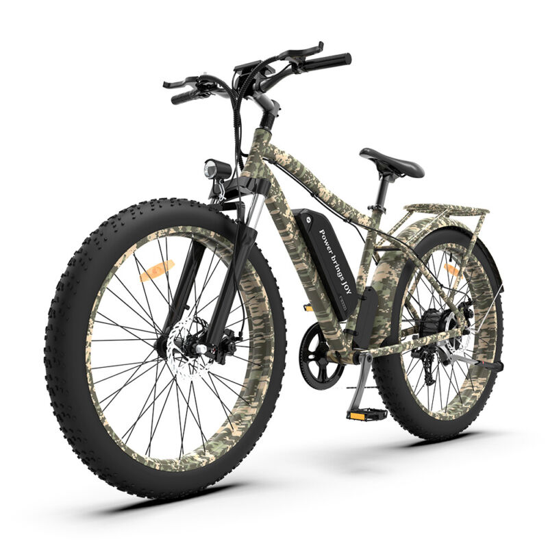 """AOSTIRMOTOR S07-B/C/D Electric Bicycle 750W 48V/13A LiBattery 26"""" FatTire Ebike"""